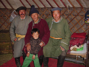 モンゴル民族衣装デール